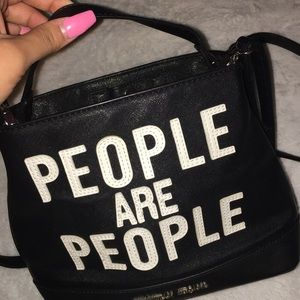 People are people crossbody bag